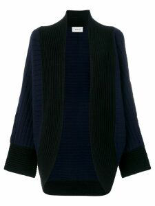 Michel Klein open front cardigan - Blue