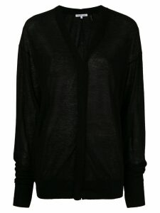 Helmut Lang V-neck cardigan - Black