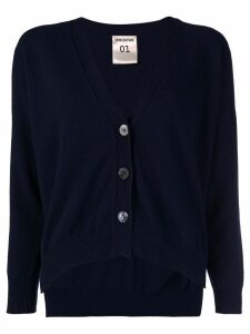Semicouture Jude buttoned cardigan - Blue