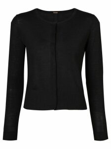 Adam Lippes round neck cardigan - Black