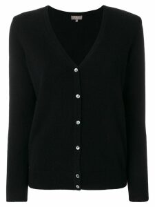 N.Peal v-neck cardigan - Black
