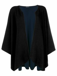 Philo-Sofie flared draped cardigan - Black