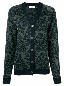 Sonia Rykiel lip print cardigan - Green