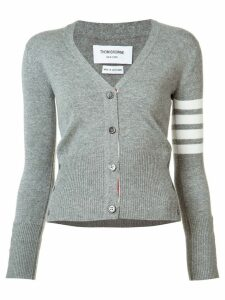 Thom Browne four stripe cardigan - Grey