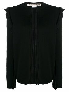 Comme Des Garçons raw seam cardigan - Black