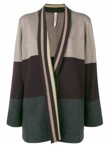 Antonio Marras stripe detail cardigan - NEUTRALS