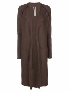 Rick Owens Trapeze cardigan - Brown