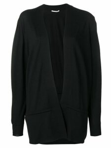Agnona open front cardigan - Black