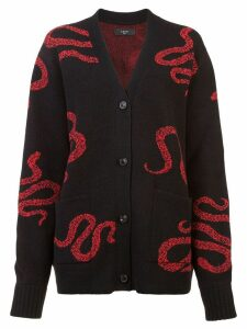 AMIRI Snake knit cardigan - Black