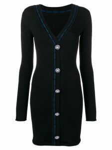 Faith Connexion embellished fitted cardigan - Black