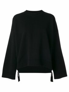 Paco Rabanne oversized zip jumper - Black