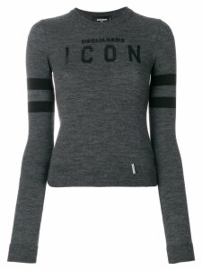 Dsquared2 Icon knit jumper - Grey