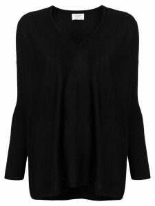 Snobby Sheep V-neck sweater - Black