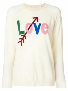 Chinti & Parker Love printed sweater - Neutrals