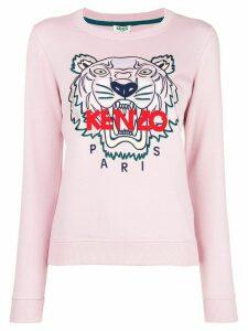 Kenzo logo-print jumper - Pink