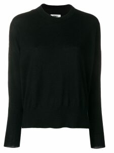 Mm6 Maison Margiela round neck jumper - Black
