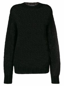 Prada chunky sweater - Black