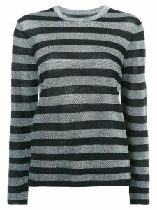 Alexander Wang striped sweater - Black