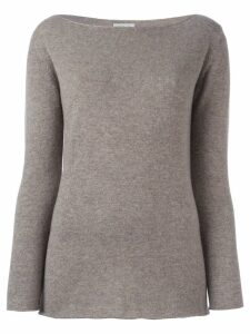 Fashion Clinic Timeless boat neck jumper - NEUTRALS