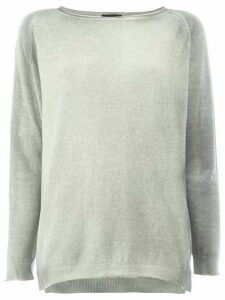 Avant Toi loose-fit jumper - Grey
