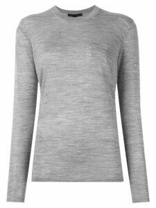 Alexander Wang crew neck sweater - Grey