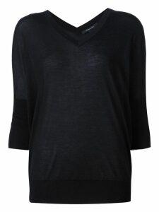 Derek Lam Ezme Batwing Sweater - Black