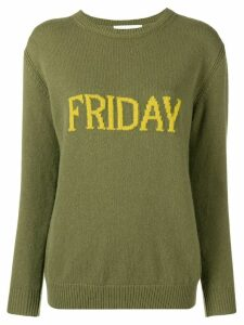 Alberta Ferretti Friday knitted jumper - Green
