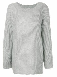 Le Kasha Hyeres boat neck sweater - Grey