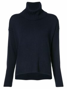 Derek Lam 10 Crosby turtle neck jumper - Blue