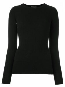 Fashion Clinic Timeless crew neck jumper - Black
