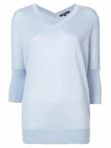 Derek Lam Ezme Batwing Sweater - Blue