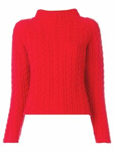 Lamberto Losani round neck jumper - Red