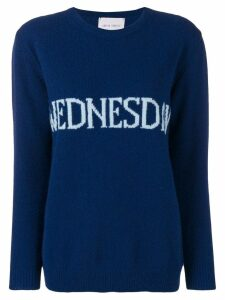 Alberta Ferretti Wednesday jumper - Blue