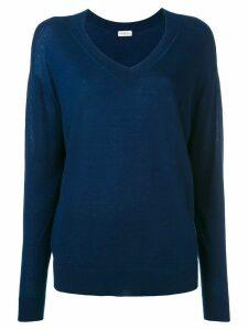 Le Kasha cashmere v-neck jumper - Blue