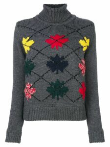 Dsquared2 turtle neck jumper - Grey