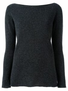 Fashion Clinic Timeless round neck jumper - Grey