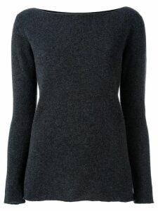Fashion Clinic Timeless round neck jumper - Grey