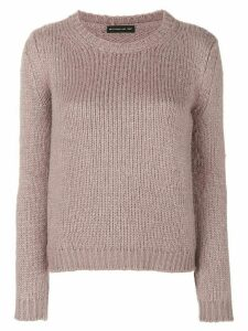 Etro long-sleeve silk jumper - Grey
