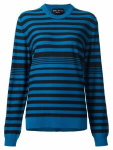 Sonia Rykiel striped pullover - Blue