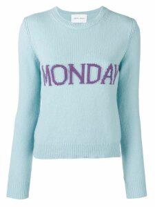 Alberta Ferretti Monday jumper - Blue