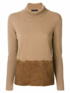Fabiana Filippi turtleneck sweater - Brown