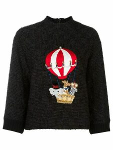 Dolce & Gabbana air balloon patch jumper - Black