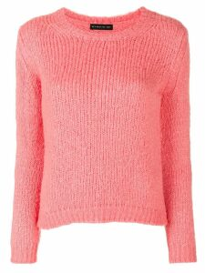 Etro textured knit jumper - Pink