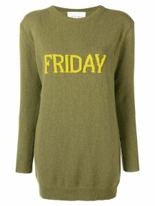 Alberta Ferretti Friday jumper - Green