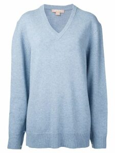 Michael Kors Collection cashmere v-neck jumper - Blue