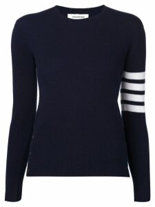 Thom Browne 4-bar stripe jumper - Blue