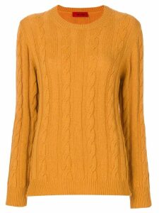 The Gigi crew neck jumper - Yellow