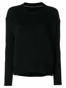 Etro ribbed detail jumper - Black