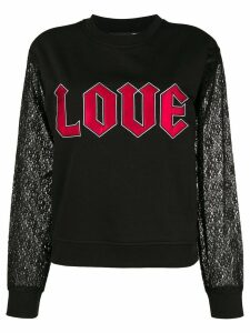 Love Moschino Love sweatshirt - Black