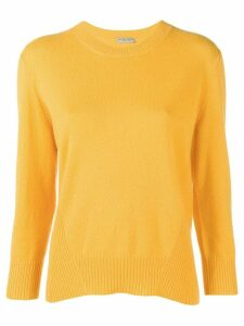 Bottega Veneta classic crew neck sweater - Yellow